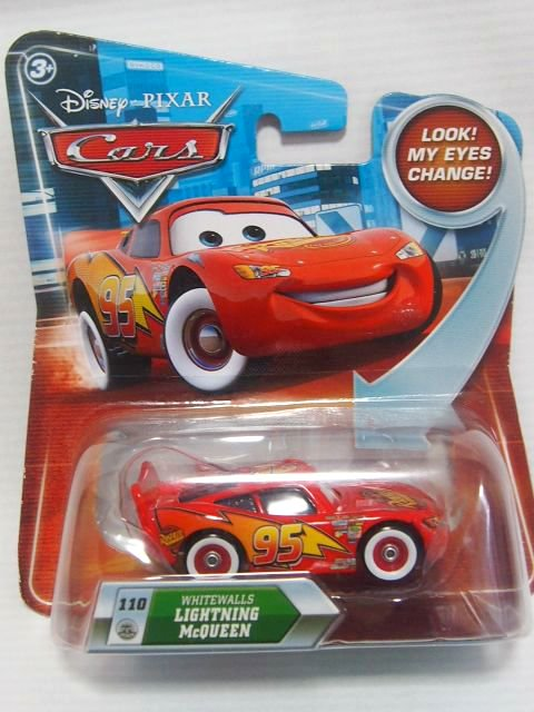 訳有特価】WHITEWALLS LIGHTNING McQUEEN LOOK EYES CHANGE NS版