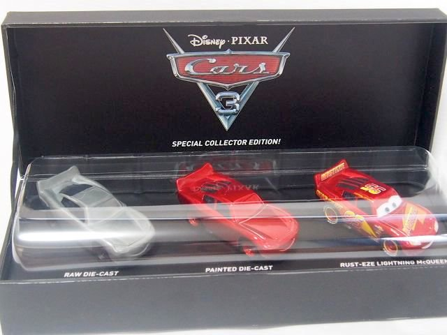 THE MAKING OF CARS3 LIGHTNING MCQUEEN DIE-CAST 2017 D23限定販売品