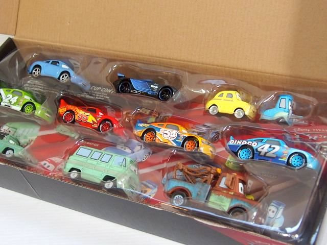 CARS3 DIE-CAST 10-PACK 11台ギフトセット/RPM #64