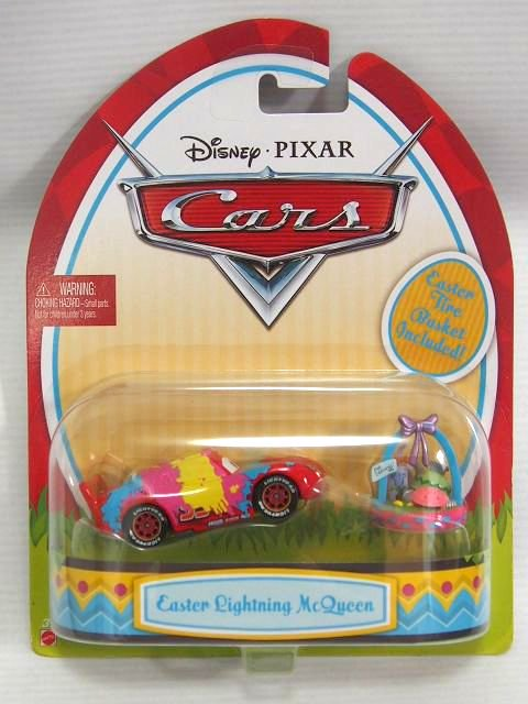 訳有特価】EASTER SERIES LIGHTNING MCQUEEN