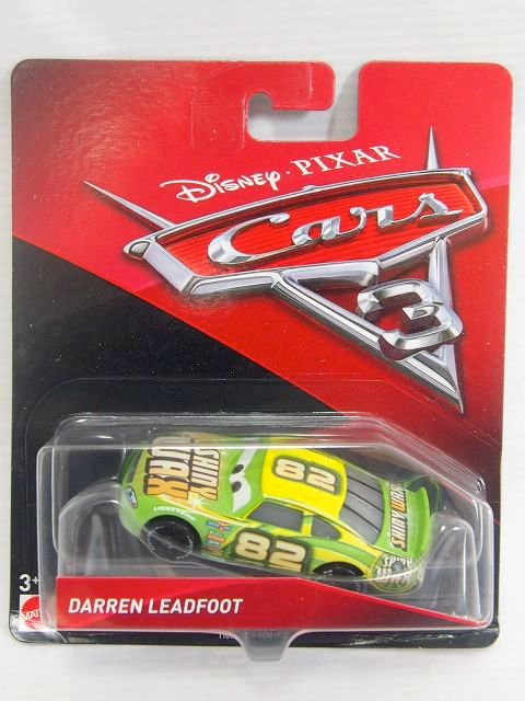 DARREN LEADFOOT NO.82 (SHINY WAX) CARS3版