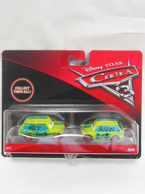 HIT AND RUN CARS3 2-PACK