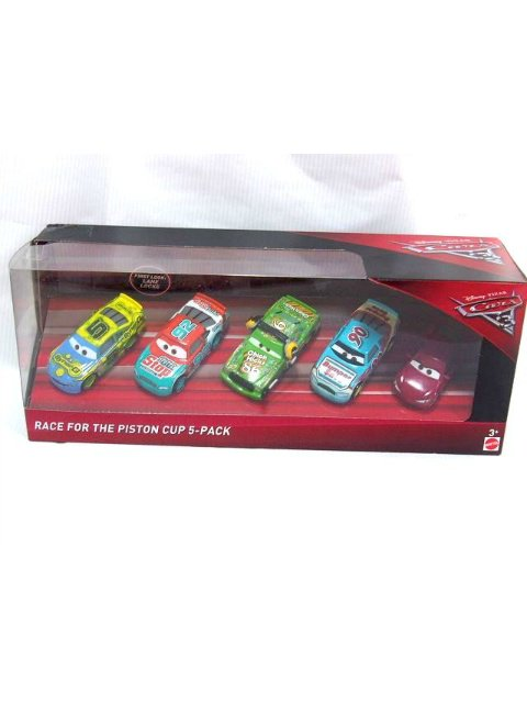 RACE FOR THE PISTON CUP 5-PACK
