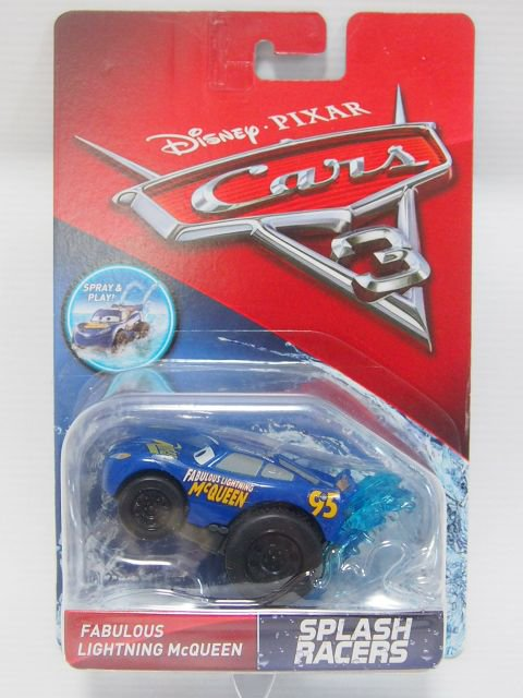 訳有特価】CARS3 SPLASH RACERS FABULOUS LIGHTNING MCQUEEN