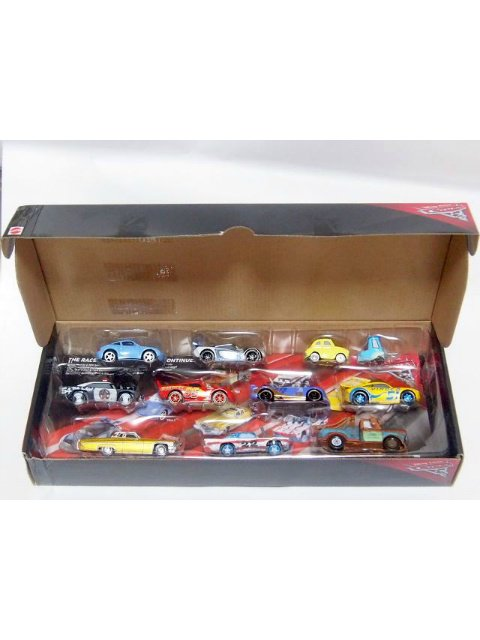 CARS3 DIE-CAST 10-PACK 11台ギフトセット/EASY IDLE No.15