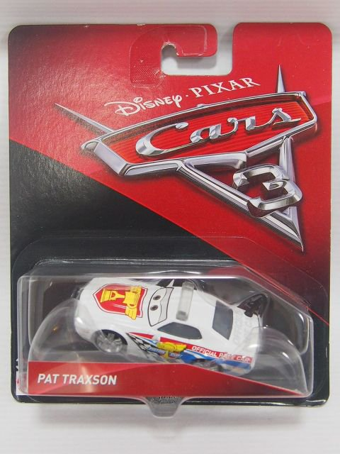 PAT TRAXSON  CARS3版