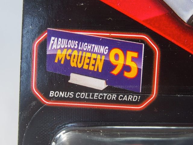 FABULOUS LIGHTNING MCQUEEN  with BONUS COLLECTOR CARD版