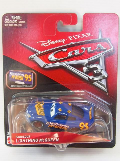 FABULOUS LIGHTNING MCQUEEN  with BONUS COLLECTOR CARD版