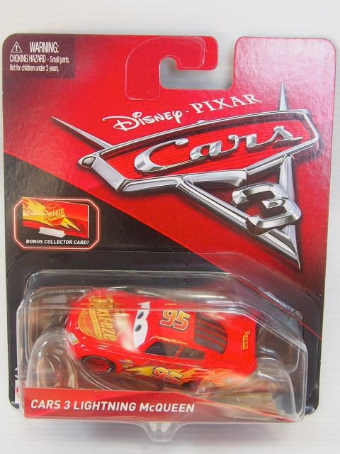 CARS3 LIGHTNING MCQUEEN with BONUS COLLECTOR CARD版
