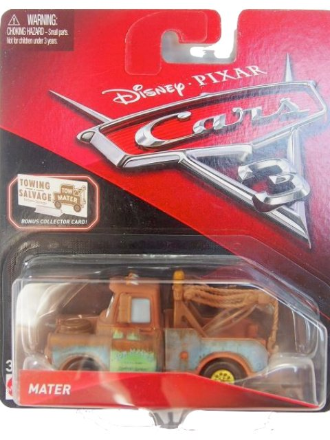 MATER CARS3版 with BONUS COLLECTOR CARD