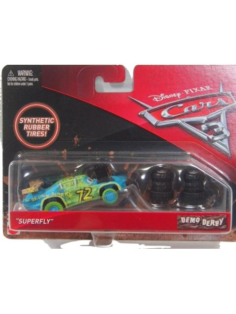 【Demo Derby】SUPER FLY with Tire Piles