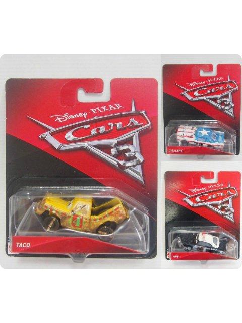 カーズ3 クロスロード 泥んこレーサー3台セット DEMO DERBY RACER'S