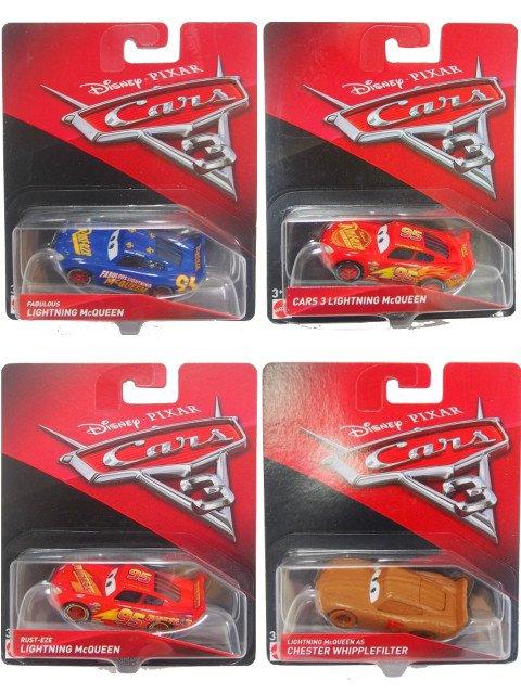 カーズ3 クロスロード 4種のマックイーンセット