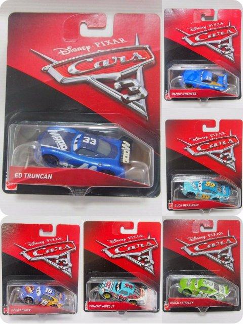 カーズ3 クロスロード 人気レーサー6台セット (B)