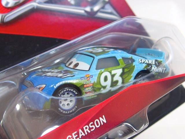 ERNIE GEARSON NO.93 (SPARE O MINT)  CARS3版 WITH ミニポスター