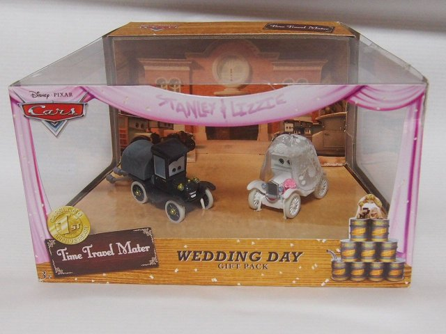 TIME TRAVEL MATER WESDDING DAY LIZZIE AND STANLEY GIFT PACK パークス限定