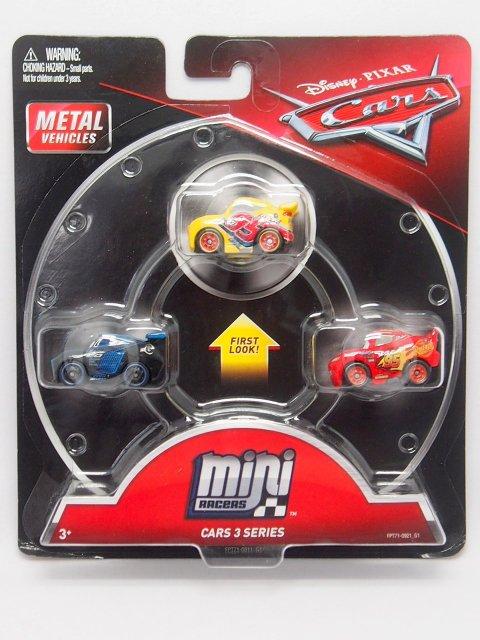 MINI RACERS CARS3 SERIES 3-PACK