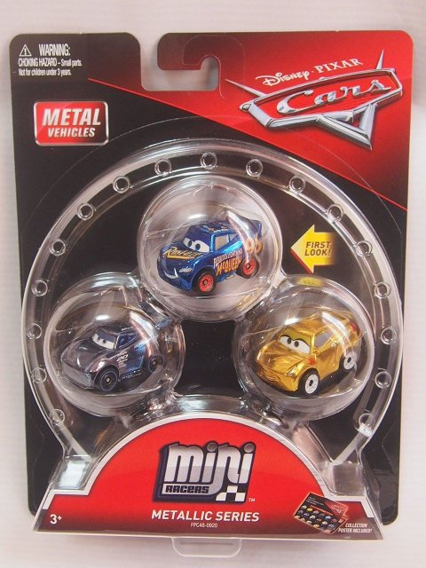 MINI RACERS METALLIC SERIES 3-PACK