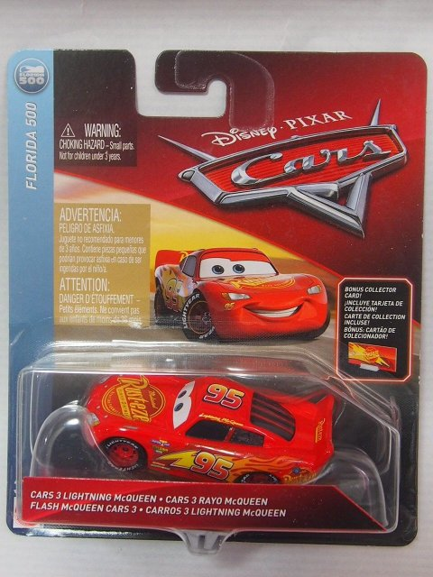 CARS 3 LIGHTNING MCQUEEN 2018 with ボーナスカード