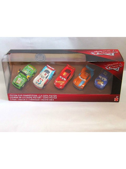 CARS3 PISTON CUP COMPETITION 5-PACK