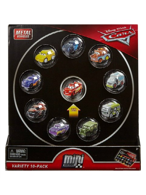 訳有特価】MINI RACERS VARIETY 10-PACK