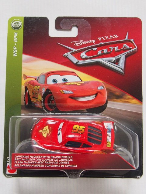LIGHTNING MCQUEEN WITH RACING WHEELS 2018 (WGP仕様)