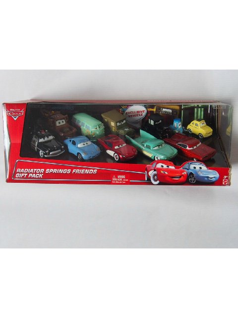 RADIATOR SPRINGS FRIENDS GIFT PACK 10-PACK