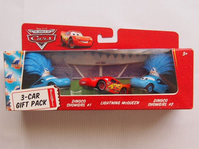 Gift pack box dinoco show girl 1 2 angry lightning mcqueen 3 pack ror negle Gallery