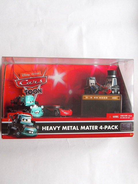 HEAVY METAL MATER 4-PACK