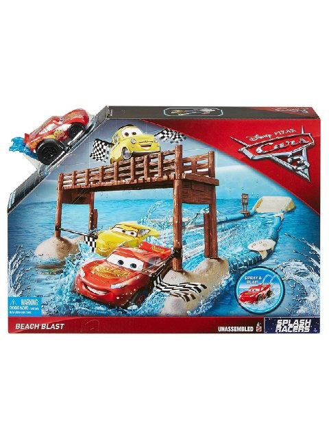 SPLASH RACERS BEACH BOAT PLAY SET