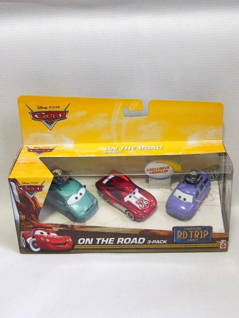 訳有特価】ON THE ROAD 3-PACK ROAD TRIP series 2018
