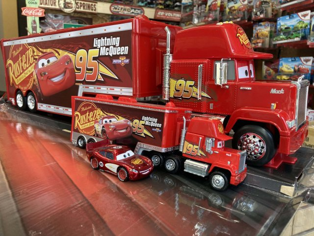 JADA TOYS 1:24 CARS3 MACK WITH TRAILER 全長63cm!!