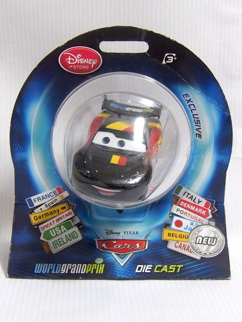 COUNTRY OF LIGHTNING McQUEEN ベルギー 2012 イギリスDS限定