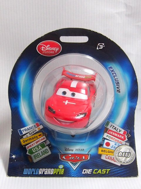 COUNTRY OF LIGHTNING McQUEEN デンマーク 2012 イギリスDS限定