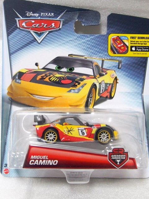 訳有特価】CARBON RACERS MIGUEL CAMINO