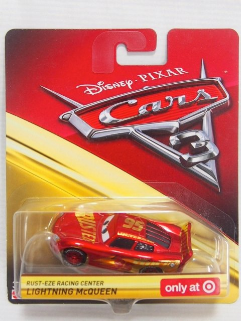 訳有特価】RUST-EZE RACING CENTER LIGHTNING MCQUEEN TARGET 限定