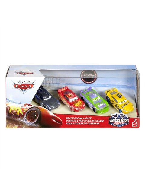 FIREBALL BEACH RACERS BEACH RACING 4-PACK TARGET限定