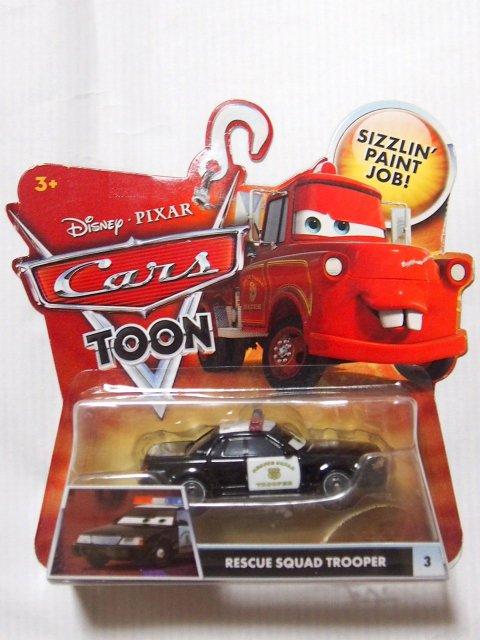 訳有特価】RESCUE SQUAD TROOPER 2011 CARS TOON