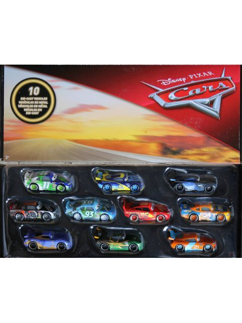 2018 CARS3 RACERS DIECAST COLLECTION 10-PACK