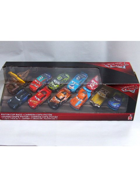 2018 PISTON CUP RACE 11-PACK ( MATER WITH LIGHTNING BOLT) ONLY AT TARGET