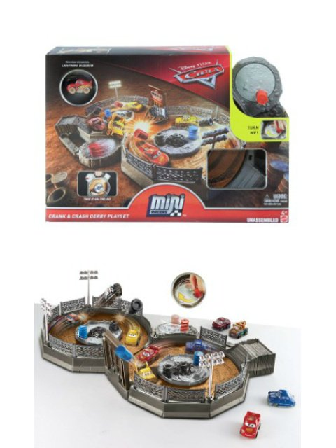 CRANK & CRASH DERBY PLAYSET 2018 MINI RACERSプレイセット