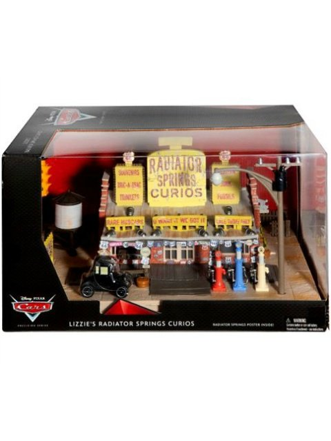 訳有特価】PRECISION SERIES LIZZIE'S RADIATOR SPRINGS CURIOS SHOP リジーのお店