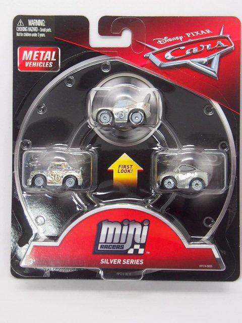 MINI RACERS SILVER SERIES 3-PACK  キング/チック/ナタリー シルバー仕様