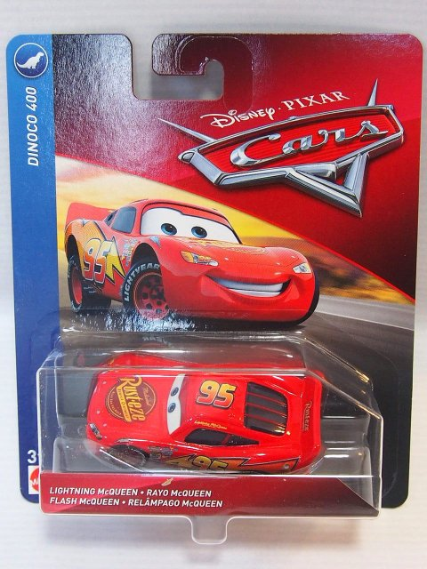 LIGHTNING MCQUEEN (CARS1 DINOCO 400 TYPE) 2018