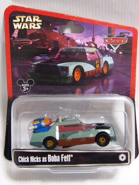 STAR WARS x CARS! CHICK HICKS AS BOBA FETT 2014年限定品