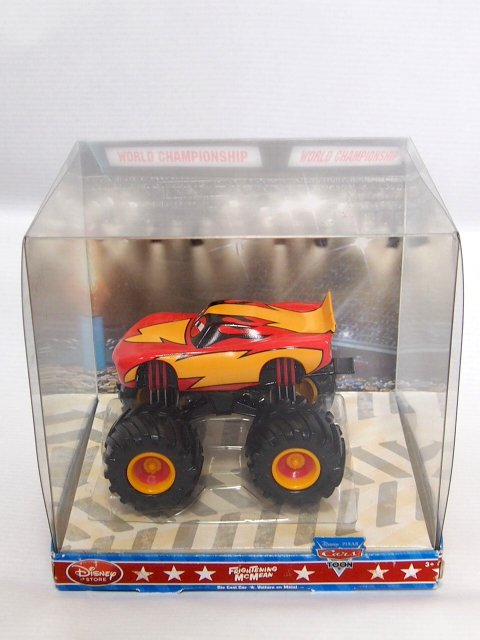 DISNEY STORE 1:43 FRIGHTENING Mc MEAN CARS TOON