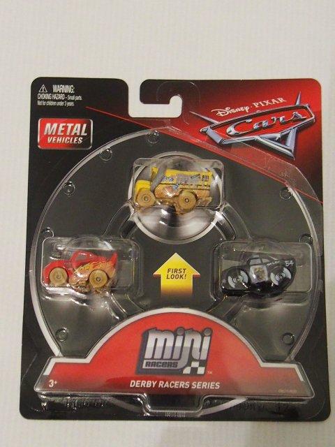 MINI RACERS DERBY RACERS SERIES 3-PACK ミスフリッター/マディーマックイーン/APB