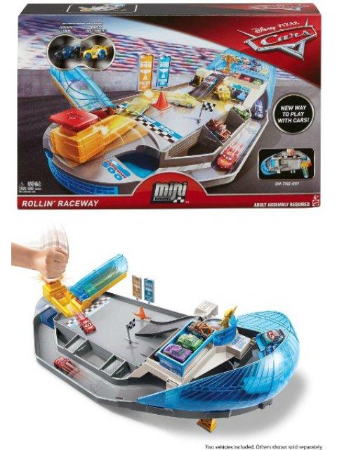 ROLLIN'  RACEWAY PLAYSET 2019 MINI RACERSミニミニカーズ プレイセット