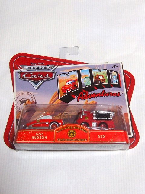 【MINI ADVENTURE】RS FIRE DEPARTMENT |DOC HUDSON and RED