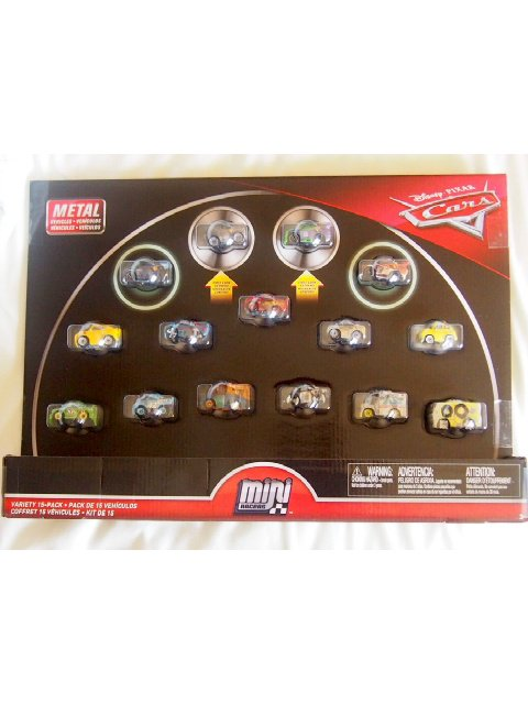 MINI RACERS VARIETY 15-PACK(HJ Hollis)2019